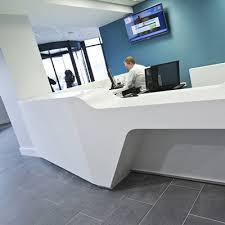 Corian Reception Desk Custom Made Reception Desks Bespoke Reception Counters Apres