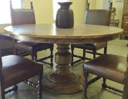 Round 54 Inch Dining Table Painters Ridge Furniture Dining Tables