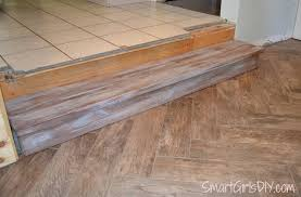 Uneven Floor Laminate How To Tile A Herringbone Floor Family Room 10