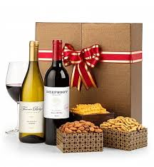 sending wine as a gift christmas wine baskets wine gift baskets gifttree