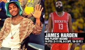 Lil B Memes - lil b s curse was for real james harden had the worst game of his