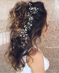 coiffure mariage cheveux lach s coiffures mariées romantiques