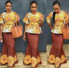 skirt and blouse the most fashionable ankara styles skirt blouse you should try