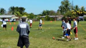 Red Flag Football 2014 Red Zone Flag Football Semi Finals Miami Shores Youtube