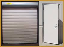 Overhead Security Door Commercial Door Installation Service And Repair