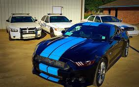Mustang 2015 Black Purple Mustange White Racing Stripes 2016 Ford Mustang Blue