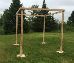how to build a chuppah best 25 wedding chuppah ideas on lake wedding