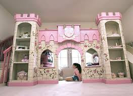 Toddler Loft Bed For Girl Castle Bunk Beds Kids Bedroom Design - Loft bunk beds kids