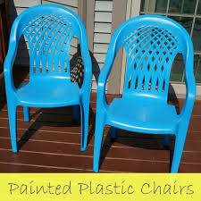 Paint For Outdoor Plastic Furniture by Deck Makeover Painted Plastic Chairs Creative Ramblings