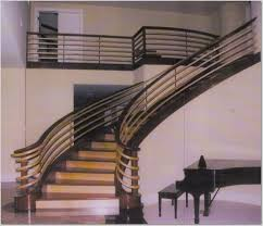 Banister Handrail Designs Stair Fancy Home Interior Design Using Black Iron Rod Staircase