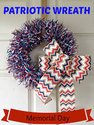 patriotic wreath diy we got the funk