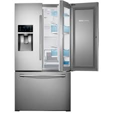 samsung 27 8 cu ft food showcase french door refrigerator in