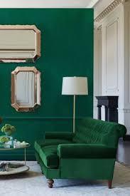 Emerald Green Velvet Sofa by Dumont 85