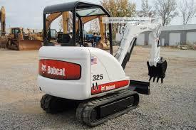 bobcat mini excavator 325