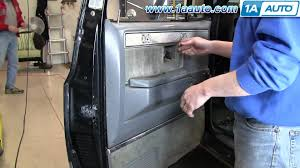 how to install replace remove door panel 73 87 chevy gmc pickup