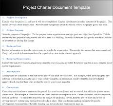 project charter templates word and pdf download creative template