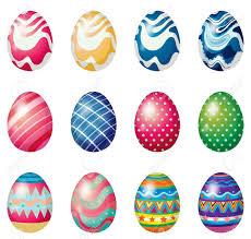 easter egg hunt eggs illustration of the easter eggs for the easter sunday egg hunt