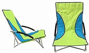 sieges de plage nalu lot de 2 sièges de plage bas pliants vert amazon fr jeux et