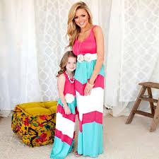aliexpress buy summer school striped dress family