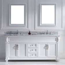 60 Inch Bathroom Vanity Double Sink by Virtu Usa Victoria 72 Inch White Double Sink Vanity Set 16212975