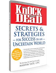 Knock Them Dead Resume Resume Knock Them Dead