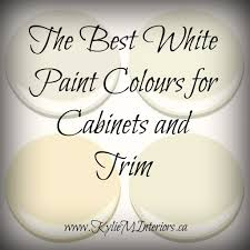 best white paint for kitchen cabinets benjamin the 4 best white paint colours for cabinets benjamin