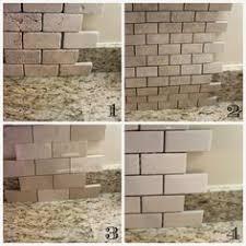 Ivory Travertine Subway Tile Backsplash  Actual - Travertine tile backsplash
