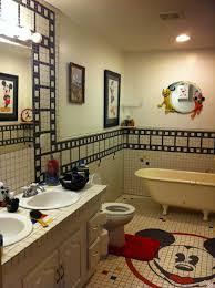 mickey mouse bathroom ideas disney mickey mouse bathroom home decor designs ideas bathroom