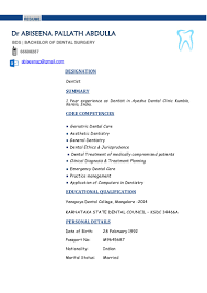 Core Qualifications List Cv Dentist Professional Medical Assistant Resume Resume Format