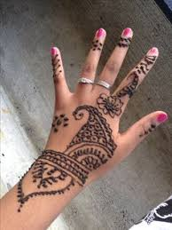 dark brown henna tattoo best henna design ideas