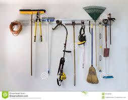 tool hangers for garage hanger inspirations decoration neat garage tool hanging storage royalty free stock photos image royalty free stock photo