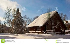Winter House Winter House Stock Image Image 34652261