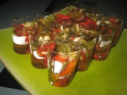poivron cuisine verrines de poivron au balsamique cuisine