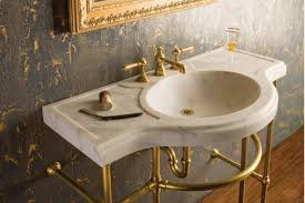 carrara marble console sink c9242ca in by stone forest in new milford ct renaissance console