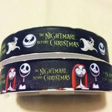 nightmare before christmas ribbon 5 yds nightmare before christmas ribbon