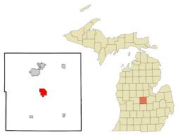 Ithaca Map Ithaca Michigan Wikipedia