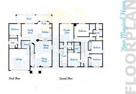 Castle Floor Plans Windsor Hills Home Rental Windsor Castle 6br