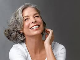 images of sallt and pepper hair amazing gray hairstyles we love southern living