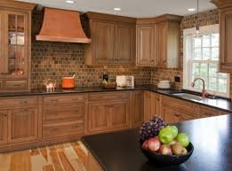 Small Kitchen Remodel Featuring Slate Tile Backsplash by 55 Best Kitchen Tile Backsplash Images On Pinterest Backsplash
