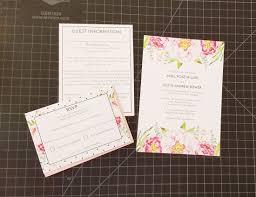diy wedding invites diy wedding invitation with ribbon raspberry creative
