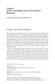 Psychology Research Assistant Cover Letter Positive Psychology And Cross Cultural Research Springer