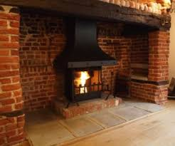 Real Fire Fireplace by Brick Open Fireplace Exposed Brick Fireplaces On Pinterest 100
