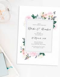 wedding invitations adelaide 14 modern botanical wedding invitations you will page 5 of
