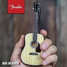 6 fender pd 1 dreadnought acoustic guitar ornament axe heaven