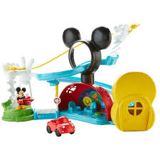 mickey mouse halloween decorations disney mickey mouse zip slide and zoom clubhouse walmart com