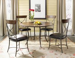 Metal And Leather Dining Chairs Dining Room Contemporary Leather Igfusa Org