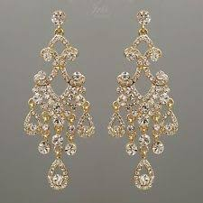 gold chandelier earrings yellow gold plated chandelier fashion earrings ebay
