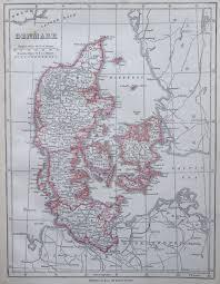 map of denmark 1853