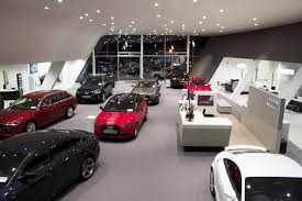 audi showroom audi naas emd architects