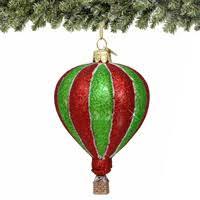 san francisco glass air balloon ornament